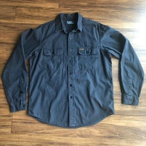 Polo by Ralph Lauren Size Large Navy Button Up